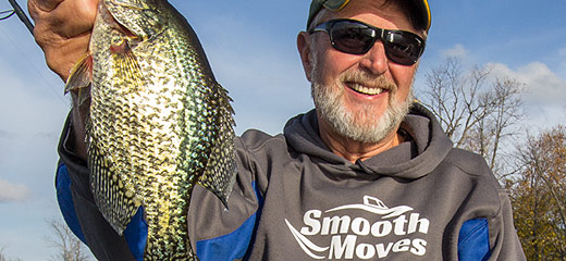 Smooth Moves angler Al Lindner