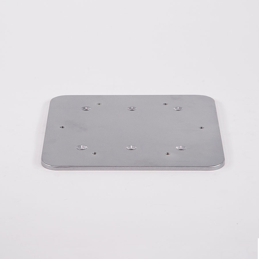 BOAT SEAT PARTS: SQUARE-TO-ROUND PLATE