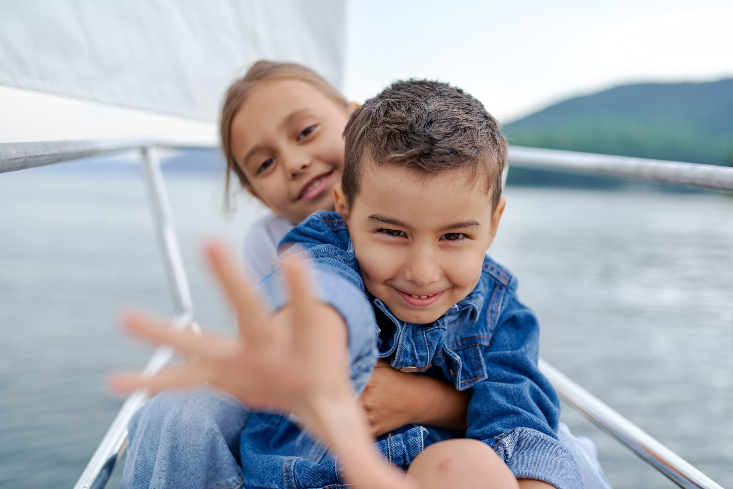 Kids boating!